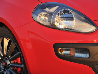 2010 Fiat Punto Evo Headlight