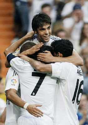 Kaka Real Madrid Football Team
