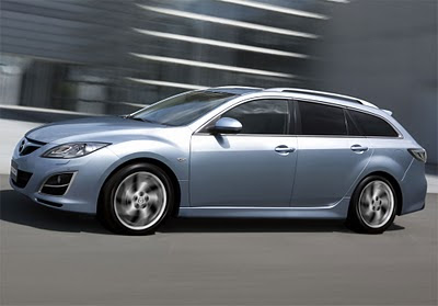 2011 Mazda6 facelift Side View