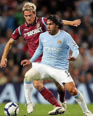 Carlos Tevez Football Picture