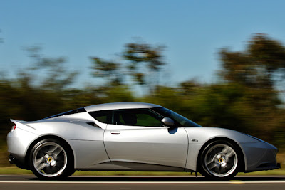 2010 Lotus Evora Side View