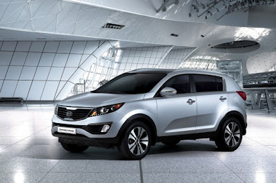 2011 Kia Sportage Luxury Car
