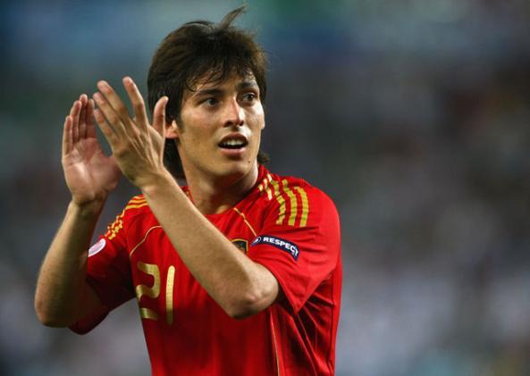 David Silva Soccer Player