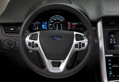 2011 Ford Edge Steering Wheel