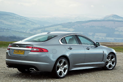 2011 Jaguar XF S Rear Side View