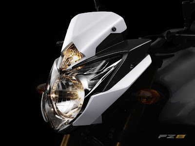 2010 Yamaha FZ8 Headlight View