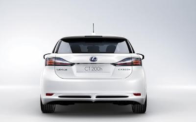 2011 Lexus CT 200h Rear View