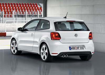 2011 Volkswagen Polo GTI Rear Angle View