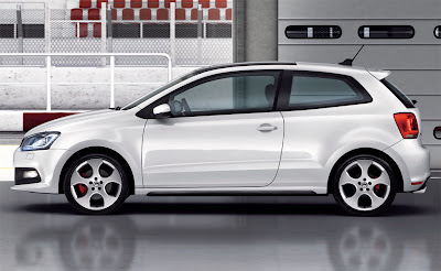 2011 Volkswagen Polo GTI Side View