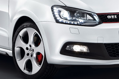 2011 Volkswagen Polo GTI Headlights