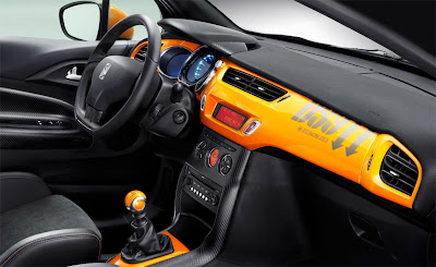2011 Citroen DS3 R Interior