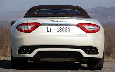 2011 Maserati Granturismo Convertible Rear View