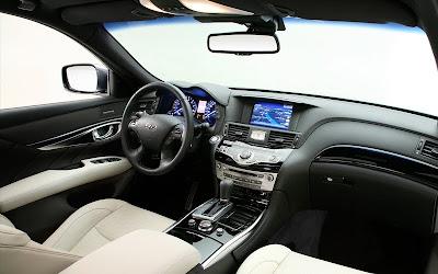 2011 Infiniti M37S Car Interior