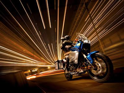 2010 Yamaha XT1200Z Super Tenere Action