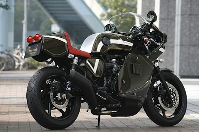 2011 Honda CB750 Cafe Motorimoda type Wallpaper