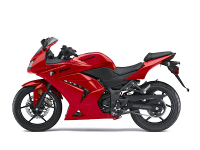 2010 Kawasaki Ninja 250R Red Series
