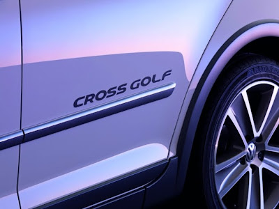 2011 Volkswagen Crossgolf Wheel