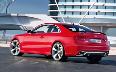 2011 Audi RS 5 Rear Angle View
