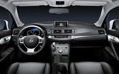 2011 Lexus CT 200h Car Interior