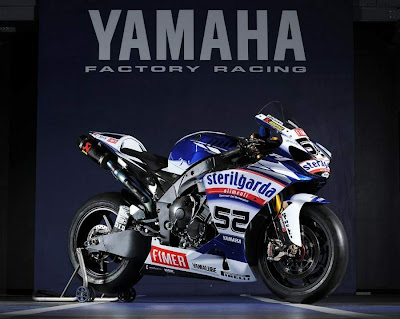 2010 Yamaha YZF 1000R1 Superbike James Toseland