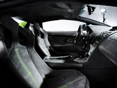 2011 Lamborghini Gallardo LP 570-4 Superleggera Interior