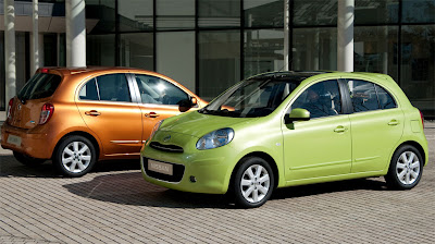 2011 Nissan Micra Side View