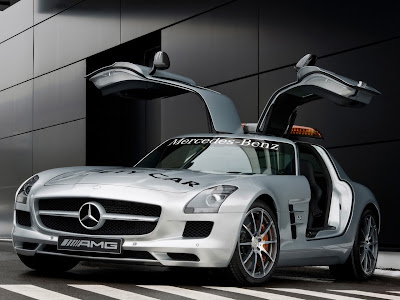 2010 Mercedes Benz Sls Amg F1 Safety Car Swing Door