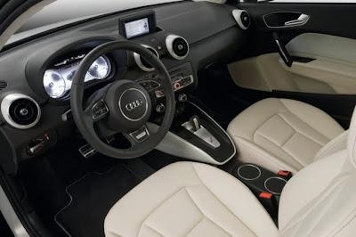 2010 Audi A1 e-Tron Car Interior
