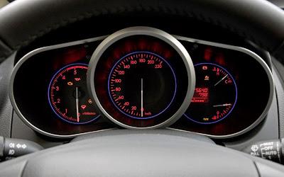 2010 Mazda CX-7 Diesel Gauges