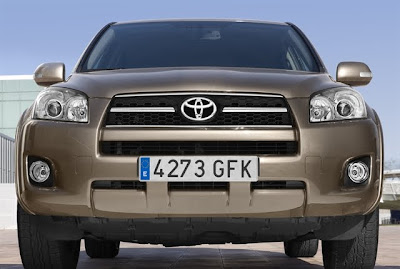 2010 Toyota Rav4 Front View