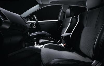 2010 Mitsubishi Outlander RX Interior