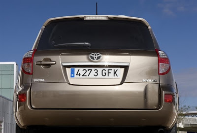 2010 Toyota Rav4 Rear View