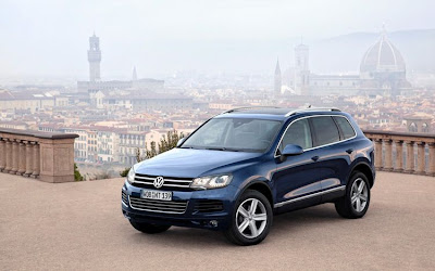 Volkswagen Touareg Car Photo