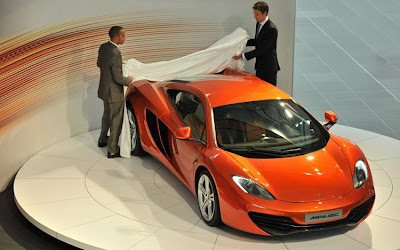 2011 McLaren MP4-12C Showing