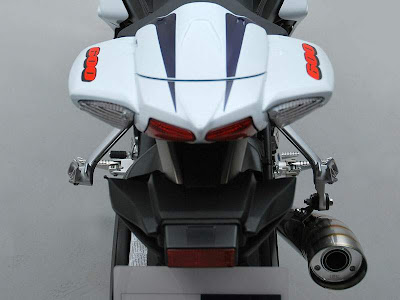 2010 Suzuki GSX-R 600 25th Anniversary Rear View
