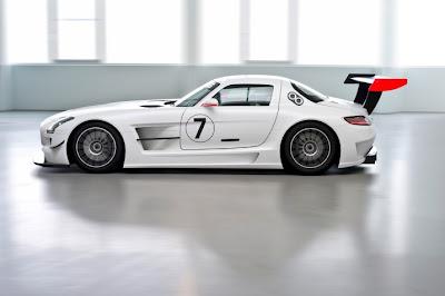 2010 Mercedes-Benz SLS AMG GT3 Side View