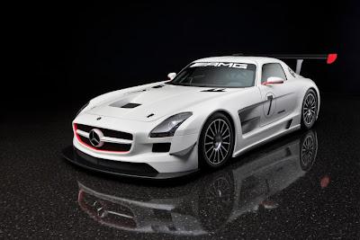 2010 Mercedes-Benz SLS AMG GT3 Sport Car
