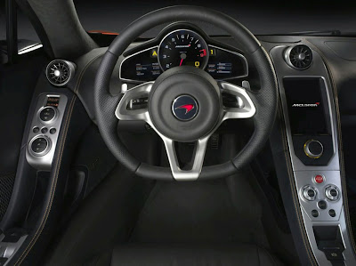 2011 McLaren MP4-12C Steering Wheel