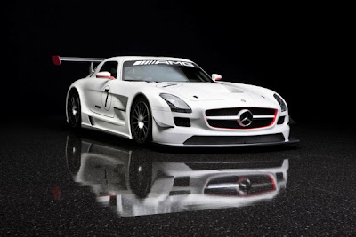2010 Mercedes-Benz SLS AMG GT3 Super Car