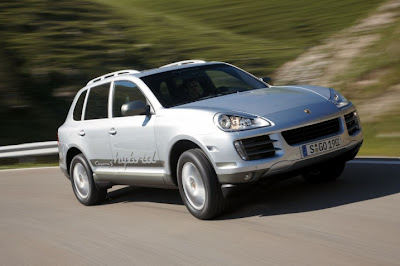 2011 Porsche Cayenne S Hybrid Car Wallpaper