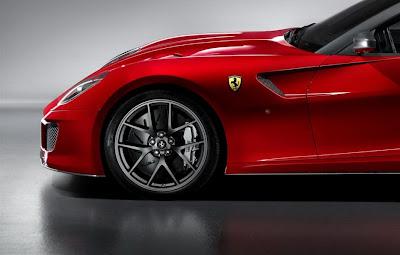 2011 Ferrari 599 GTO Wheel