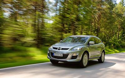 2010 Mazda CX-7 Diesel Test Road