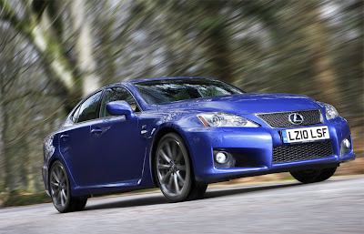 2011 Lexus IS F Sport Car
