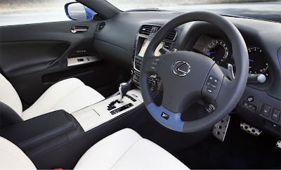 2011 Lexus IS F Interior