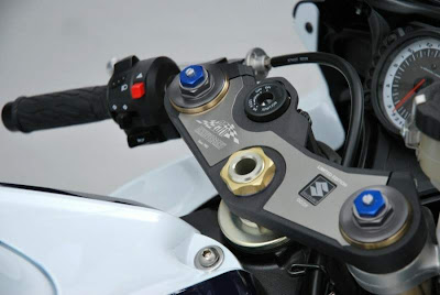 2010 Suzuki GSX-R 600 25th Anniversary Dash
