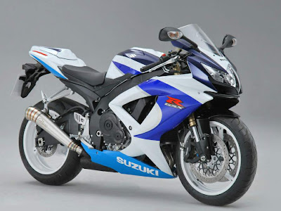 2010 Suzuki GSX-R 600 25th Anniversary Motorcycle