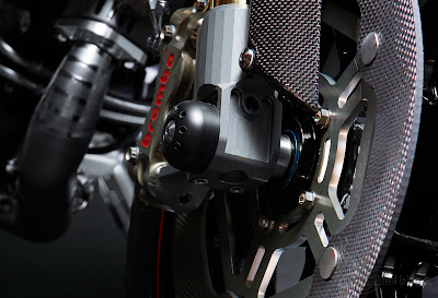 Ducati Monster Titanium Disc Brakes