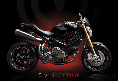 Ducati Monster Titanium Photo