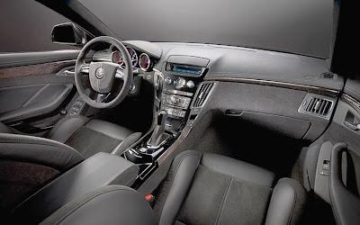 2011 Cadillac CTS-V Sport Wagon Car Interior