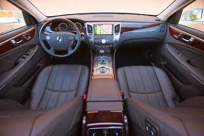 2011 Modern Hyundai Equus wallpaper